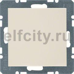 Заглушка с центральной панелью, S.1, цвет: белый, глянцевый