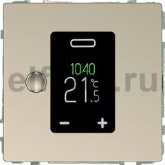 Термостат сенсорный программируемый 230 В~ 8А с выносным датчиком, для электрического подогрева пола, сахара