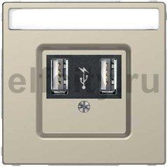 Зарядное USB устройство , 2,1А (2*1,05), сахара