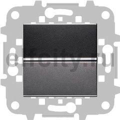 Выключатель одноклавишный, 10 А / 250 В, антрацит