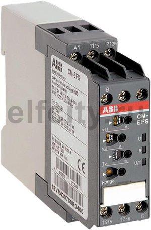 Реле контроля напряжения CM-EFS.2 (AC/DC (Umin 3В, Umax 600В AC) c реле времени, питание 24-240В AC/DC, 2ПК