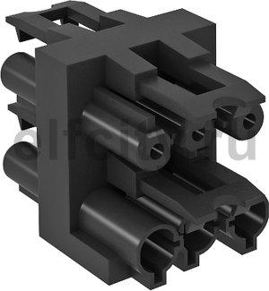 Распределительный блок для UVS-распределителей (черный)