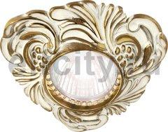 Точечный светильник Toscana Chianti, gold white patina
