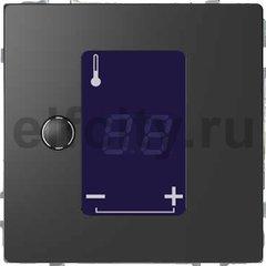 Термостат сенсорный 230 В~ 8А с выносным датчиком, для электрического подогрева пола, антрацит