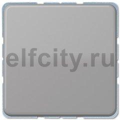 Выключатель одноклавишный, 10 А / 250 В, серый