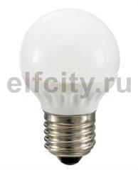 Civilight светодиодная лампа шар, 3 Вт, 220В, Е27, 250Lm, 2700К (теплый), мат.стекло