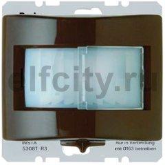 Автоматический выключатель 230 В~ , 60-420Вт, задержка выключения 10с-30мин, монтаж 1,1м, пластик коричневый глянцевый