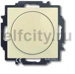 Диммер (светорегулятор) поворотный 60-400 Вт для ламп накаливания и галогенных 220В, слоновая кость