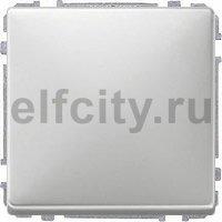 Диммер (светорегулятор) клавишный универсальный 25-420 Вт для ламп накаливания и низковольтных галогенных ламп, нержавеющая сталь
