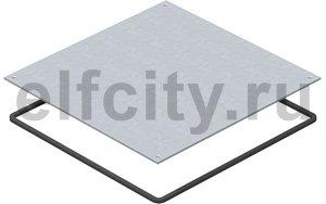 Заглушка монтажного основания UZD250 влагозащитная 282x282x4 мм (сталь)