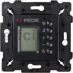 FD18004-M Терморегулятор Цифровой,с LCD монитором,черный