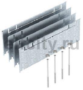 Комплект для регулирования высоты монтажного основания UZD350 (сталь,165+55 мм)