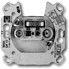 Механизм TV-R розетки, тупиковая