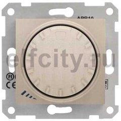 Диммер (светорегулятор) поворотный 40-1000 Вт для ламп накаливания и галогенных 220В, титан