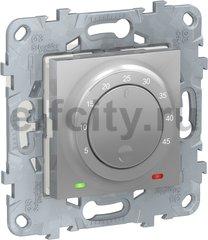 Термостат для электрического подогрева пола 230 В~ 8А , для электрического подогрева пола, алюминий