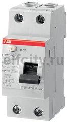 Выключатель дифференциального тока (ВДТ) 2P FH202 AC-25/0,03