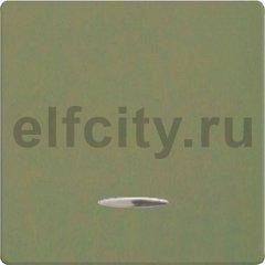 Клавиша широкая с подсветкой, цвет green olive