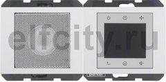 Радио с одним динамиком: FM - тюнер, стерео, индикатор RDS, выход под MP3 или док-станции, полярная белизна