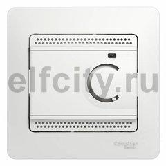 Термостат для электрического подогрева пола 230 В~ 8А , для электрического подогрева пола, белый
