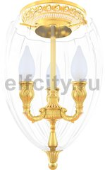 Точечный светильник New Chandeliers Bologna I, Gold White Patina