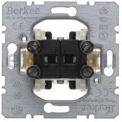 Двухклавишный выключатель Модульные механизмы