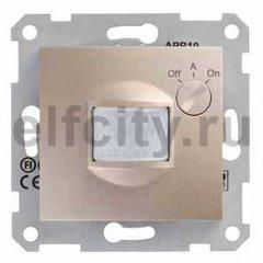 Автоматический выключатель 230 В~ , 40-350Вт, с регулированием минимальной освещенности и выдержкой срабатывания по времени, титан