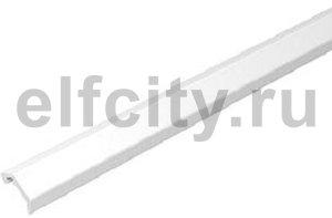 Профиль конвекционной решетки 20x22x3000 мм (алюминий,кремовый)