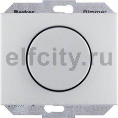Диммер (светорегулятор) поворотный 60-400 Вт для ламп накаливания и галогенных 220В, пластик под алюминий