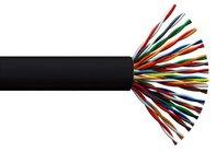 ITK Кабель связи витая пара U/UTP, кат.5E, 25х2х24AWG solid, PVC, 500м, серый