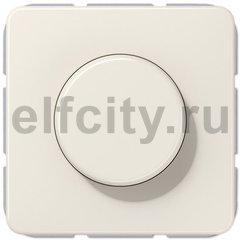 Диммер (светорегулятор) поворотный 20-525 Вт для ламп накаливания и галогенных 220В, слоновая кость