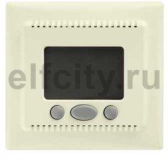 Термостат електронный, с выносным датчиком для электрического подогрева пола 230 В~ 8А, бежевый