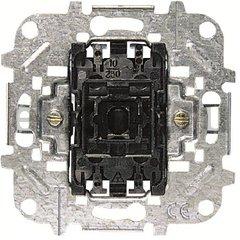 Механизм 1-клавишного проходного переключателя, 10А/250В