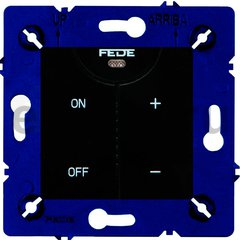 Диммер (светорегулятор) сенсорный 40-500 Вт для ламп накаливания и галогенных 220B, черный