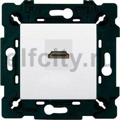 Розетка HDMI, белый