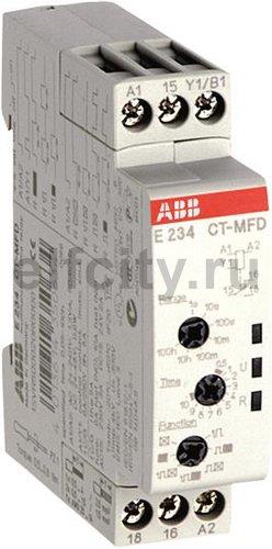 Реле времени CT-MFD.12 модульное многофункц. (7 функций ) 24-48B DC, 24- 240B AC (7 временных диапазонов 0,05с...100ч) 1ПК