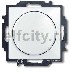 Диммер (светорегулятор) поворотный 60-400 Вт для ламп накаливания и галогенных 220В, альпийский белый