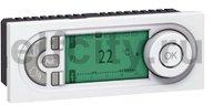 Термостат программируемый недельный, 5-ть модулей с выносным датчиком для электрического подогрева пола 230 В~ 8А, белый