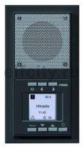 Радиоприемник, моно/стерео радио RDS, будильник, часы, запоминает 6-ть FM станций, компектуется рамкой, пластик антрацит