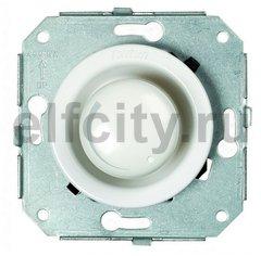 Светорегулятор поворотный 60-500 Вт. для ламп накаливания и галоген., 220В, фарфор белый