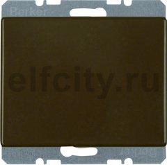 Заглушка с центральной панелью, Arsys, цвет: коричневый, глянцевый