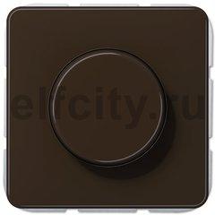 Диммер (светорегулятор) поворотный 20-525 Вт для ламп накаливания и галогенных 220В, коричневый