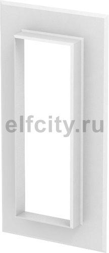 Настенная стыковая рамка кабельного канала Rapid 80 70x210 мм (ABS-пластик,белый)