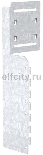 Монтажный и соединительный профиль для конвекционных решеток (сталь)