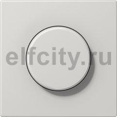 Диммер (светорегулятор) поворотный 60-600 Вт для ламп накаливания 220В, светло-серый