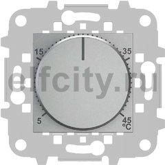 Термостат механический с выносным датчиком, для электрического подогрева пола 230 В~ 8А, серебристый