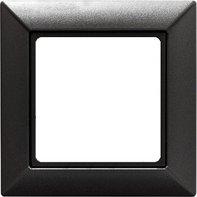 Серия ECO Profi. Рамка 1-кратная для вертикальной и горизонтальной установки, антрацит