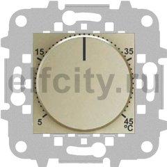 Термостат механический с выносным датчиком, для электрического подогрева пола 230 В~ 8А, шампань