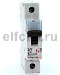 Автоматический выключатель TX? 6000 - 6 кА - тип характеристики C - 1П - 230/400 В~ - 16 А - 1 модуль