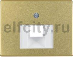 Центральная панель для розетки UAE цвет: золотой, металл Berker Arsys