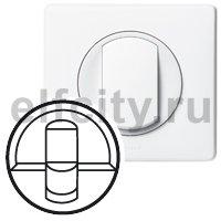 Лицевая панель - Программа Celiane - розетки RJ 45 Кат. № 0 673 44/45 - белый
